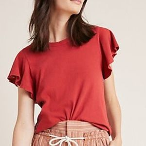 Dolan Left Coast Melinda Embroidered Top